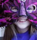 Mardi Gras Joy Royalty Free Stock Photo