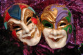 Mardi-gras masks Royalty Free Stock Image