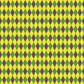 Mardi Gras Seamless Pattern Wi...