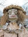 Mardi Gras woman mask Royalty Free Stock Photo