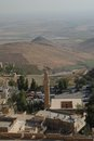 Mardin valley a view into the from the city turkey Stock Photo