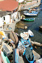 Marechiaro naples italy october a small suburb of symbol of the sweet life of the s for their frequent visits hollywood paradise Stock Photos