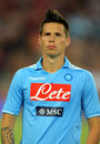 Marek Hamsik of SSC Napoli Stock Images