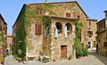 Maremma tuscany characteristic village Royalty Free Stock Photo