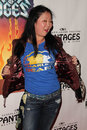 Margaret cho the rock at of ages opening night pantages theater hollywood ca Stock Photography