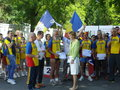 Margaret princess of romania in the middle athletes adult who received awards in bucharest Stock Image