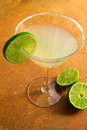 Margarita and lime Royalty Free Stock Photo