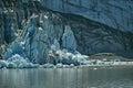 Margerie tidewater galcier, Glacier Bay, Alaska Royalty Free Stock Photo