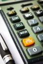 Margin Calculator Royalty Free Stock Images
