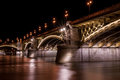Margit bridge in budapest híd or margaret is a hungary connecting buda and pest across the danube river it is the second Royalty Free Stock Image