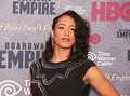 Margot bingham actress who plays the role of daughter maitland arrives on the red carpet for the new york city premiere of the th Stock Photo