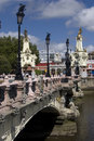 Maria Cristina bridge Royalty Free Stock Image