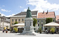 "Maria theresa monument at neuer platz klagenfurt the first to ""empress"" to be erected in austria was placed in the west end of Royalty Free Stock Image"