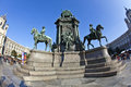 Maria theresia monument in vienna march theresien denkmal austria on march the was built by kaspar von Royalty Free Stock Photo