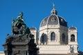 Maria theresien denkmal wien wahrzeichen und reiseziel vor dem naturhistorischem museum Stock Photos