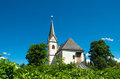 Maria worth church exterior of the in austria a first st mary s was erected about during the christianization of carinthia Stock Images