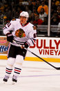 Marian Hossa Chicago Blackhawks Stock Photo