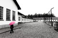 Marianne at Dachau in Germany. Royalty Free Stock Photo