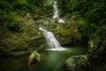 Maribina falls philippines catanduanes island Royalty Free Stock Images