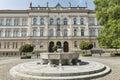 Maribor secondary school building in Slovenia Royalty Free Stock Photo