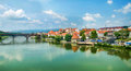 Maribor slovenia panorama of in Royalty Free Stock Image