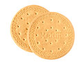 Marie biscuit isolated on white Stock Images