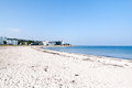 Marienlyst Beach in Helsingor, Denmark Royalty Free Stock Photo