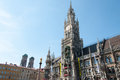 Marienplatz munich germany the medieval with it s world famous glockenspiel attracts millions of visitors each year the site of Royalty Free Stock Images