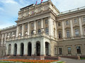 Mariinsky Palace in Saint Petersburg. Russia. Royalty Free Stock Photo