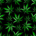 Marijuana leaf pattern.