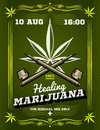 Marijuana smoker, weeds, drug warning vector background