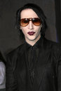 Marilyn Manson Royalty Free Stock Photo