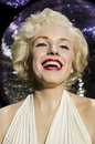 Marilyn monroe in the famous wax museum madame tussauds london england Royalty Free Stock Photography