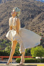 Marilyn Monroe in Palm Springs Royalty Free Stock Photo