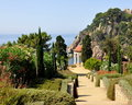 Marimurtra garden in Blanes,Spain Stock Photos