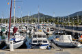 Marina of Argelès-sur-Mer in France Stock Photos