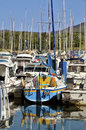 Marina of Argelès-sur-Mer in France Royalty Free Stock Photography