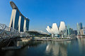 Marina Bay Sands hotel and casino, Singapore Royalty Free Stock Photography
