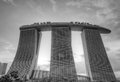 Marina Bay Sands Integrated Resort and Waterfront Royalty Free Stock Photography
