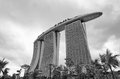 Marina Bay Sands Integrated Resort and Waterfront Royalty Free Stock Images