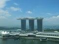 Marina Bay Sands Royalty Free Stock Photo