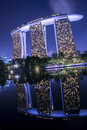Marina bay sands singapore jun on june in it was designed by moshe safdie and is the integrated resort casino hotel and Stock Images