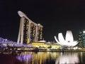 Marina bay singapire Imagen de archivo libre de regalías