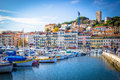 Marina of boats in Cannes France Royalty Free Stock Photo