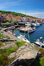 Marina on Bornholm island Royalty Free Stock Photos