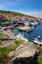 Marina on Bornholm island Royalty Free Stock Photo