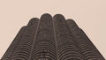 Marina City building in Chicago Royalty Free Stock Photo