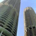 Marina City Chicago Stock Images