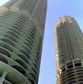 Marina City Chicago Illinois USA Royalty Free Stock Photo