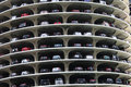 Marina city parking levels detail Royalty Free Stock Images